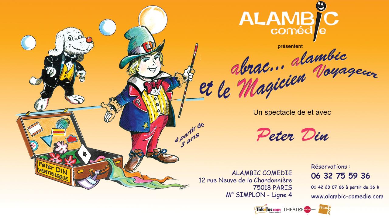 Abrac'alambic et le Magicien voyageur @ Alambic Comédie | Paris | Île-de-France | France
