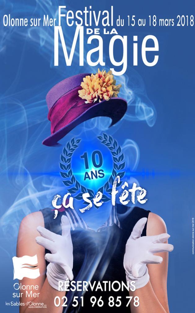 Affiche Festival de Magie d'Olonne