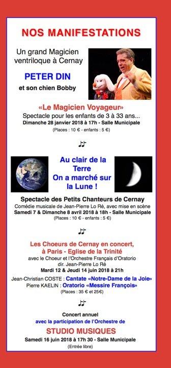 Le Magicien Voyageur à Cernay-la-Ville (78720) @ Salle Municipale de Cernay-la-Ville | Cernay-la-ville | Île-de-France | France